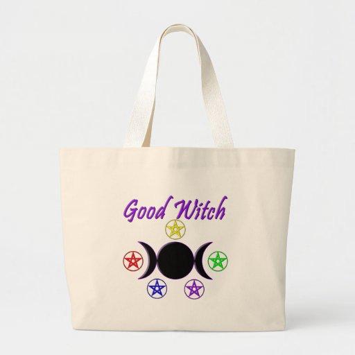 Good Witch Jumbo Tote Bag