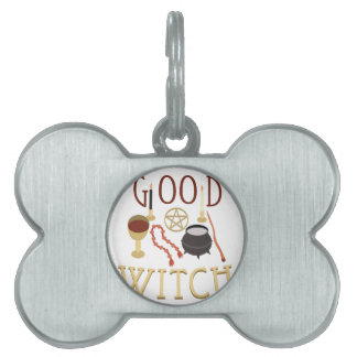 Good Witch Pet ID Tags