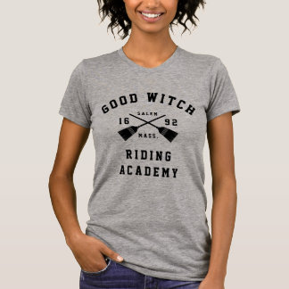 Good Witch Riding Academy Halloween T-Shirt