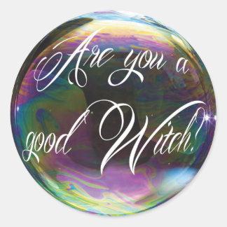 Good Witch Round Sticker