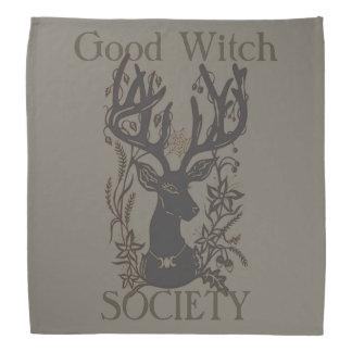 Good Witch Society Deer Bandana/ Tarot Cloth Bandana