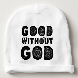 Good Without God Baby Beanie