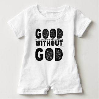 Good Without God Baby Romper