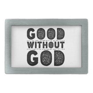Good Without God Belt Buckle