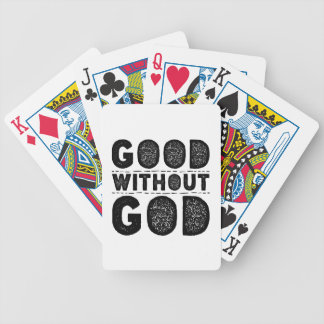 Good Without God Bicycle Playing Cards