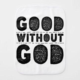 Good Without God Burp Cloth