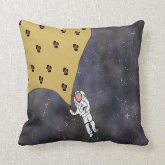 Goodbye Galaxy Throw Pillow