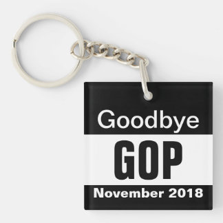 Goodbye GOP Keychain