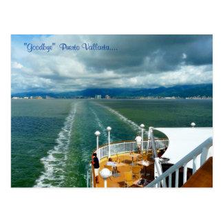 """""""Goodbye""""  Puerto Vallarta.... Postcard"""