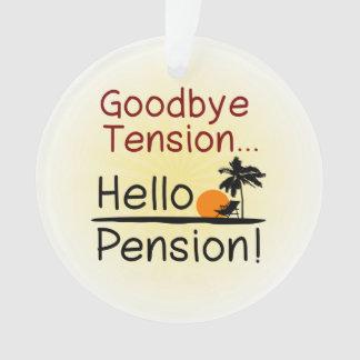 Goodbye Tension, Hello Pension Funny Retirement