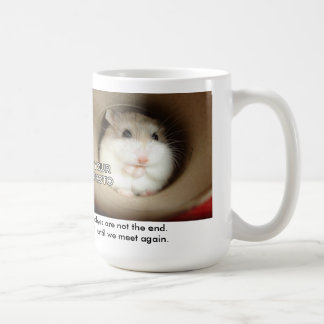Goodbyes Are Not Forever Pet Memorial Mug