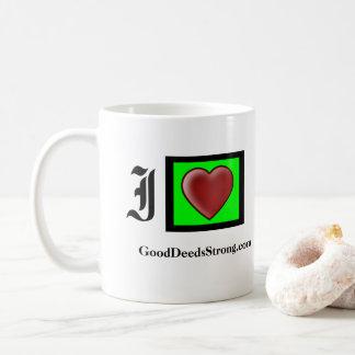 GoodDeedsStrong.com Branded Coffee Mug