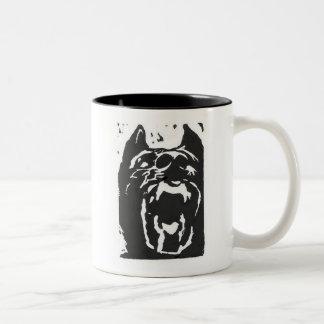 GoodDog II Two-Tone Coffee Mug