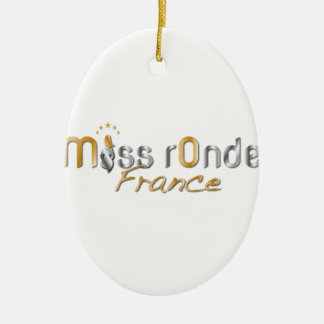 goodies Miss Ronde Ceramic Oval Ornament