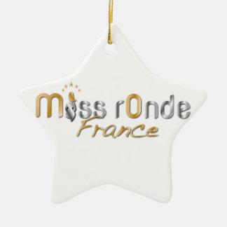 goodies Miss Ronde Ceramic Star Ornament