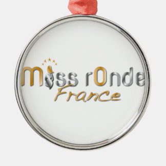 goodies Miss Ronde Silver-Colored Round Ornament