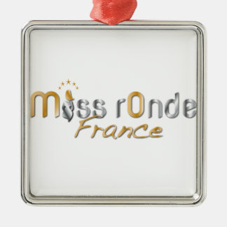 goodies Miss Ronde Silver-Colored Square Ornament