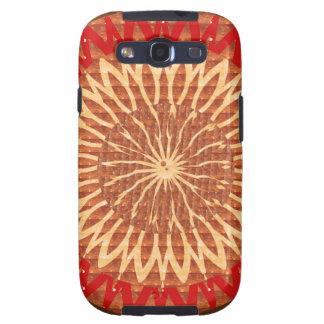 GOODluck CHARM Chakra Sunflower Healing ART GIFTS Samsung Galaxy SIII Cover