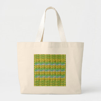 GOODLUCK Golden Green Crystal Beads crystal gifts Tote Bags