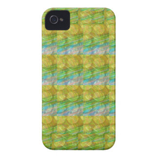 GOODLUCK Golden Green Crystal Beads crystal gifts iPhone 4 Case-Mate Case