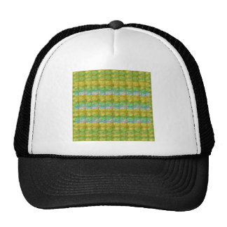 GOODLUCK Golden Green Crystal Beads crystal gifts Trucker Hat