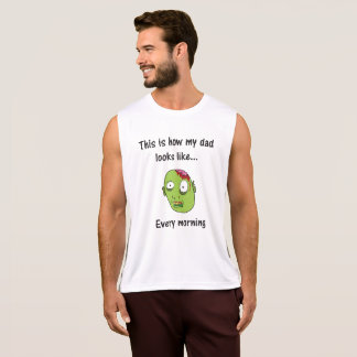 Goodmorning Zombie Dad Tank Top