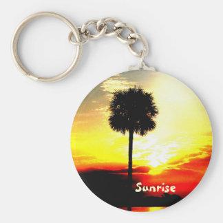goodmorningsunrise, Sunrise Basic Round Button Keychain