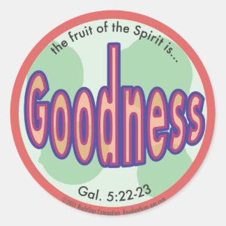 Goodness Fruit of the Spirit Spot Sticker