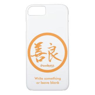 Goodness Orange Kanji  Kamon | iPhone 7 cases