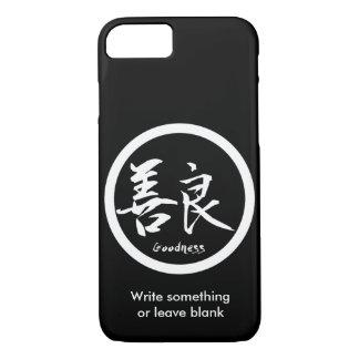 Goodness White Kanji  Kamon | iPhone 7 cases
