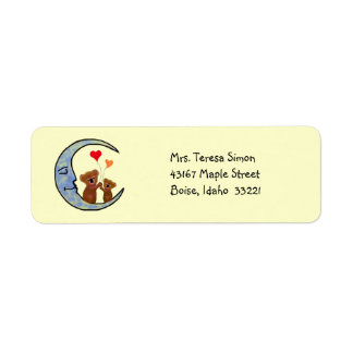 Goodnight Koala Moon Return Address Labels
