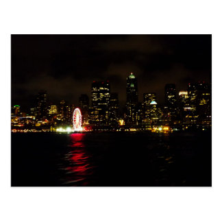 Goodnight Seattle Postcard