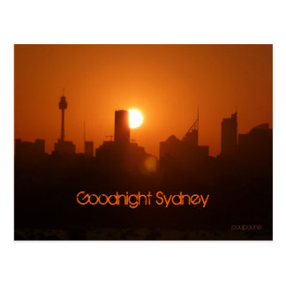 Goodnight Sydney Postcard