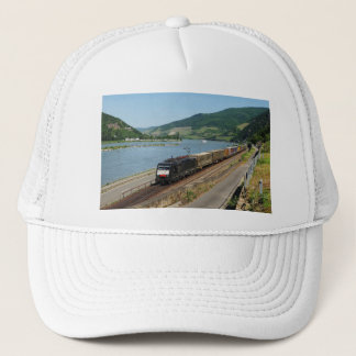Goods train in ASS one ASS on the Rhine Trucker Hat