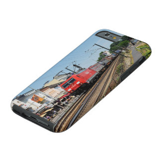 Goods train in coarse home on the Rhine Tough iPhone 6 Case