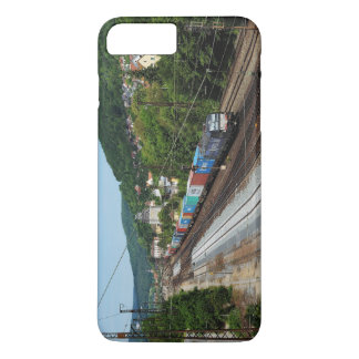 Goods train in Gemünden at the Main Case-Mate iPhone Case