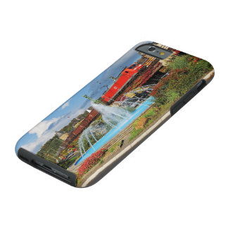 Goods train in Linz on the Rhine Tough iPhone 6 Case