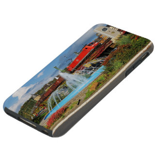 Goods train in Linz on the Rhine Tough iPhone 6 Plus Case