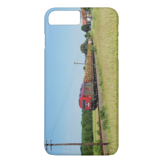 Goods train in Simtshausen Case-Mate iPhone Case