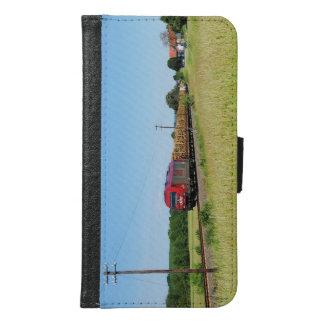 Goods train in Simtshausen Samsung Galaxy S6 Wallet Case