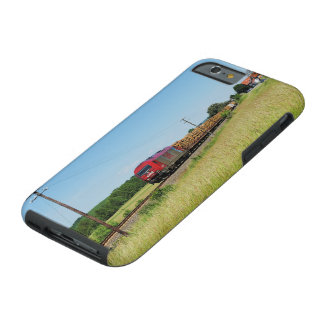 Goods train in Simtshausen Tough iPhone 6 Case