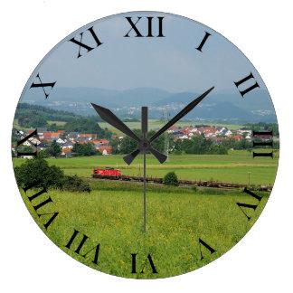 Goods train with Birkenbringhausen Large Clock