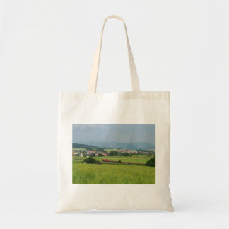 Goods train with Birkenbringhausen Tote Bag