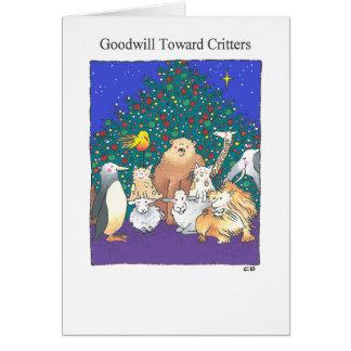 """""""Goodwill"""" Custom Christmas Card"""
