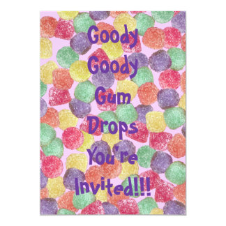 Goody Goody Gumdrops Card