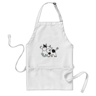 Goofy Baby Cow Standard Apron