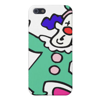 goofy clown waving iPhone 5 cover
