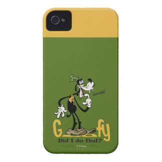 Goofy - Did I do that? iPhone 4 Cover