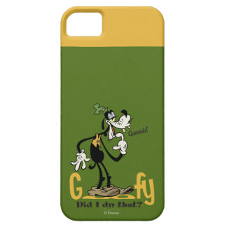 Goofy - Did I do that? iPhone 5 Cover