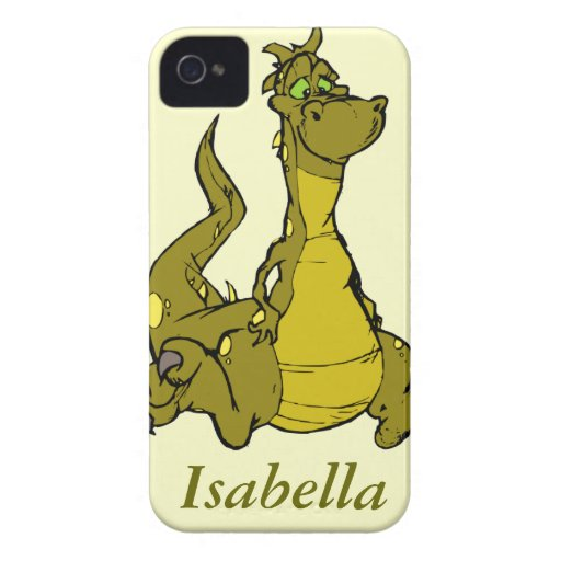 Goofy Dragon iPhone 4 Cover